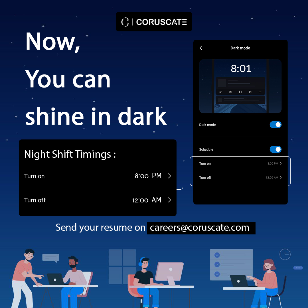 Revealing another workplace and night-shift